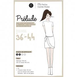 Adult Mini-Skirt Sewing Pattern - MPGR Prélude