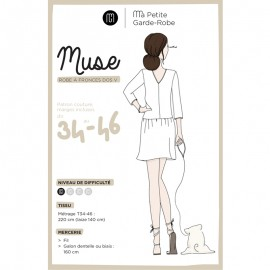 Adult Dress Sewing Pattern - MPGR Muse