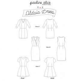 Dress Sewing Pattern - Pauline Alice Aldaia