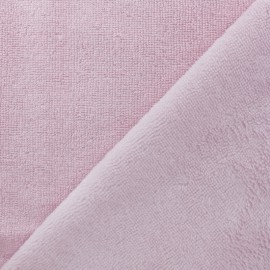 Micro Bamboo Towel fabric - light pink x 10cm