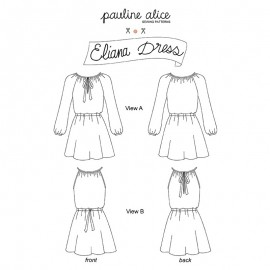 Dress Sewing Pattern - Pauline Alice Eliana