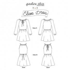 Patron Robe Pauline Alice - Eliana