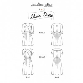 Dress Sewing Pattern - Pauline Alice Lliria