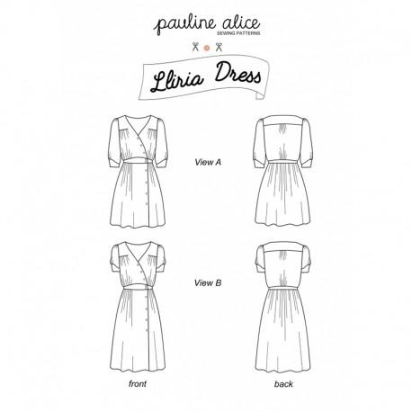 Dress Sewing Pattern - Pauline Alice Lliria