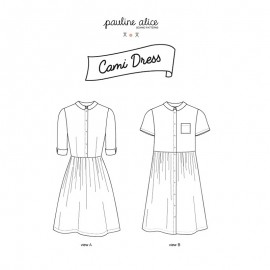 Dress Sewing Pattern - Pauline Alice Cami