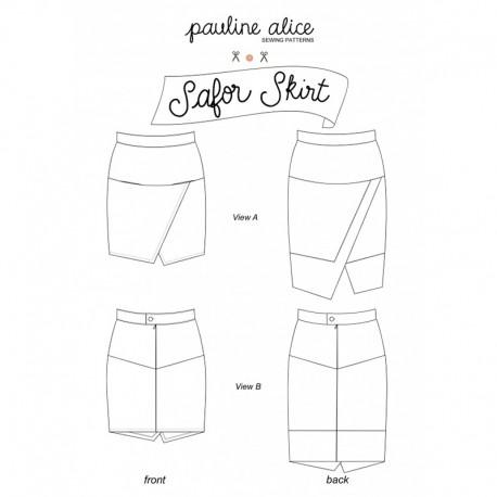 Skirt Sewing Pattern - Pauline Alice Safor