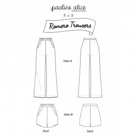 Pants Sewing Pattern - Pauline Alice Romero