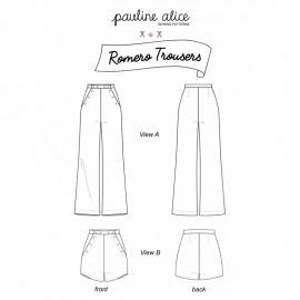 Patron Pantalons Pauline Alice - Romero