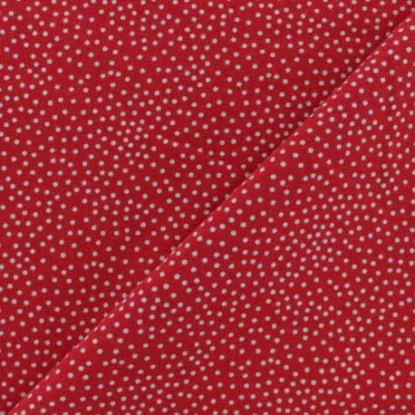 Tissu Poppy sweat léger Constellation - noir x 10cm