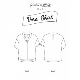 Shirt Sewing Pattern - Pauline Alice Vera