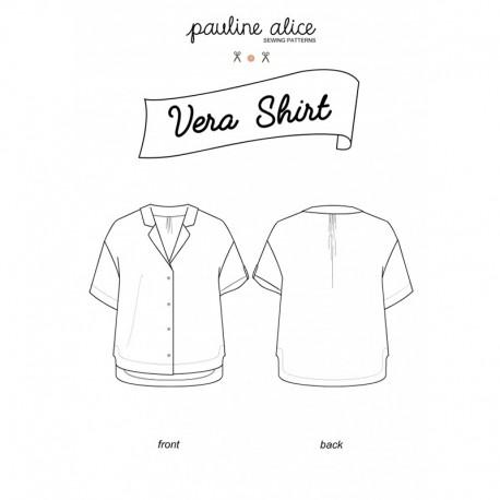 Shirt Sewing Pattern - Pauline Alice Vera