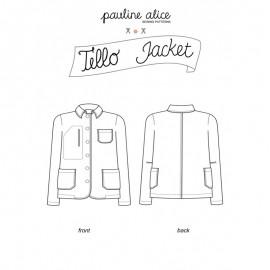 Jacket Sewing Pattern - Pauline Alice Tello