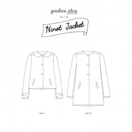 Jacket Sewing Pattern - Pauline Alice Ninot