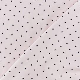 Tissu jersey Poppy nina - rose x 10cm