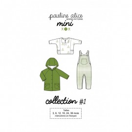 Toddler Sewing Pattern - Pauline Alice Mini Collection 1