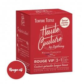 Teinture Textile Haute Couture - Rouge Vif