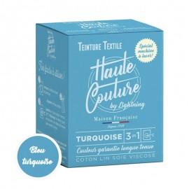 Teinture Textile Haute Couture - Turquoise