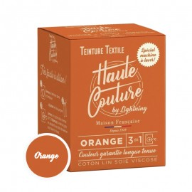 Teinture Textile Haute Couture - Orange