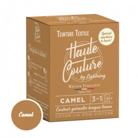 Teinture Textile Haute Couture - Camel
