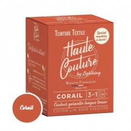 Haute Couture Textile Dye - Coral
