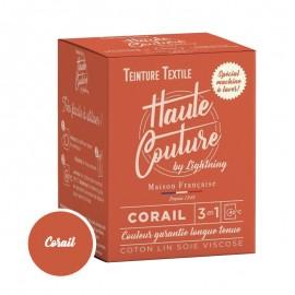 Teinture Textile Haute Couture - Corail