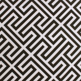 Tissu Toile Transat Paros - noir x 10cm