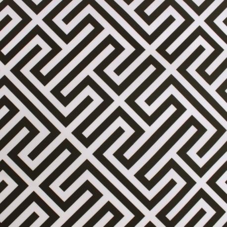 Tissu Toile Transat Paros - lagon x 10cm