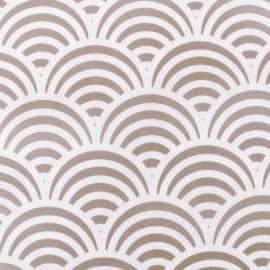Tissu Toile Transat Paros - gris x 10cm