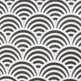 Tissu Toile Transat Nami - gris foncé x 10cm