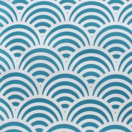 Tissu Toile Transat Nami - bleu turquoise x 10cm