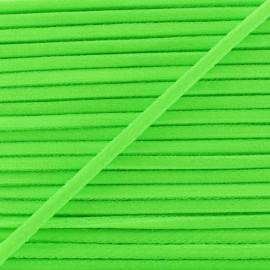 Cordon Élastique Fluo 5 mm - Vert x 1m