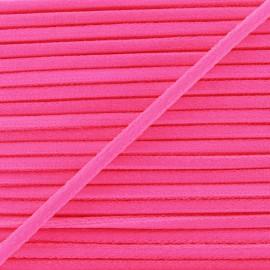 Cordon Élastique Fluo 5 mm - Rose x 1m