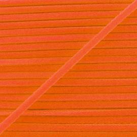 Cordon Élastique Fluo 5 mm - Orange x 1m