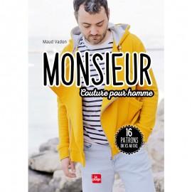 """Livre """"Monsieur - Couture pour homme"""""""