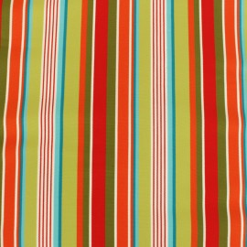Tissu Toile Transat Playa Amalfi - vert anis x 10cm