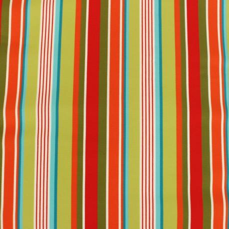 Tissu Toile Transat Playa Monaco - Turquoise x 10cm