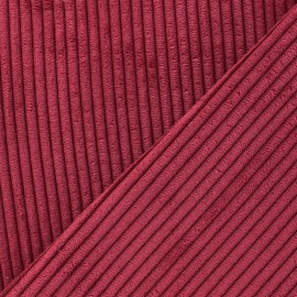 Lisboa corduroy fabric - red x 10cm