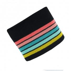 Poppy Ribbing Cuffs (150x7cm) - Black Multico