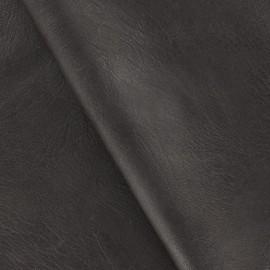 Simili cuir frappé chocolat x 10cm