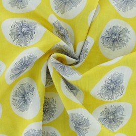 Tissu voile coton viscose Namdo - rose x 10cm