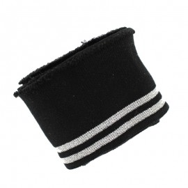 Poppy Ribbing Cuffs (150x7cm) - Black Duo