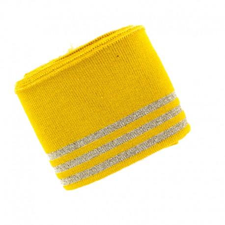 Poppy Ribbing Cuffs (150x7cm) - Mustard Trio