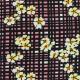 Tissu crêpe Cordélie - rose Corail x 10cm