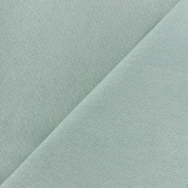 Polycotton fabric - Ice blue Cubex x 10cm