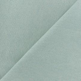 Tissu toile polycoton Cubex - bleu glacier x 10cm
