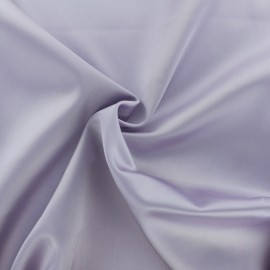 Duchesse Satin Fabric - wistaria purple x 10cm
