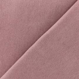 Luxury Cashmere and Wool fabric - Lilac pink x 10cm