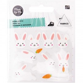 Rico Design Iron-On Patch Set - Bunny