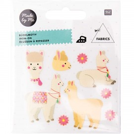 Rico Design Iron-On Patch Set - Llama