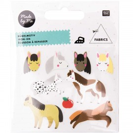 Rico Design Iron-On Patch Set - Horse